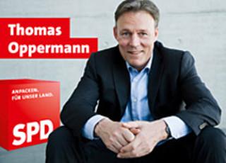 Banner Thomas Oppermann