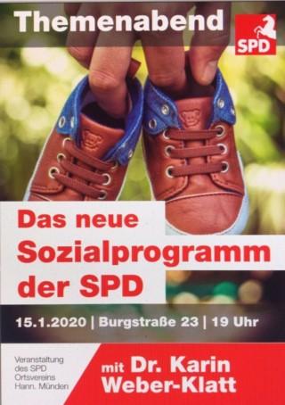 Das neue Sozialprogramm der SPD