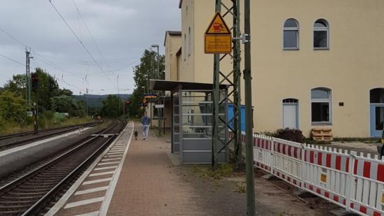 Bahnhof Hedemünden (Symbolbild)
