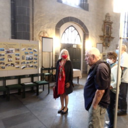 Besuch der Ausstellung Jugendaustausch