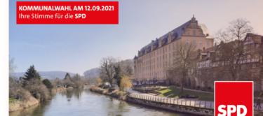 Banner Kommunalwahl SPD Hann. Münden