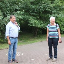 Dr. Philippi und Frau Fellenberg
